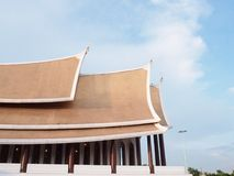 Tempio di Mahayan Fotografie Stock