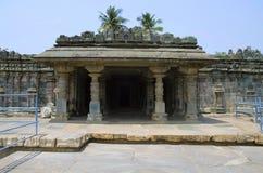 Tempio di Manikesvara, Lakkundi, il Karnataka, India fotografia stock libera da diritti