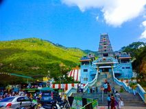 Tempio di Maruthamalai, India Immagine Stock Libera da Diritti
