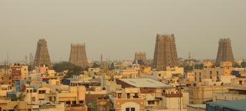 Tempio di Meenakshi Amman a Madura, India Immagini Stock