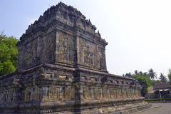 Tempio di Mendut, Indonesia Fotografia Stock Libera da Diritti
