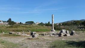 Tempio di meraviglia antica di Artmetis del mondo Fotografie Stock Libere da Diritti