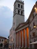 Tempio di Minerva, Assisi (Italie) Photographie stock libre de droits