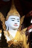 Tempio di Ngahtatgyi Buddha, Rangoon, Myanmar Fotografia Stock