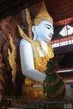 Tempio di Ngahtatgyi Buddha, Rangoon, Myanmar Immagini Stock Libere da Diritti