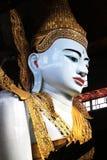 Tempio di Ngahtatgyi Buddha, Rangoon, Myanmar Fotografia Stock Libera da Diritti