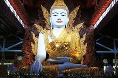 Tempio di Ngahtatgyi Buddha, Rangoon, Myanmar Immagine Stock Libera da Diritti