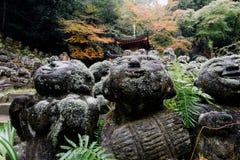 Tempio di Otagi Nenbutsu-ji, Kyoto, Giappone Fotografia Stock