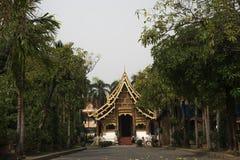 Tempio di pacin di Chiang Mai Immagine Stock
