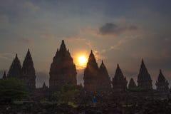 Tempio di Paramanan Immagine Stock