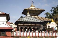 Tempio di Pashupati Fotografie Stock Libere da Diritti