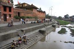 Tempio di Pashupatinath Fotografie Stock Libere da Diritti