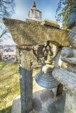 Tempio di Pashupatinath, Nepal, Kathmandu fotografia stock libera da diritti