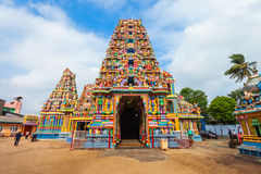 Tempio di Pathirakali Amman, Trincomalee immagine stock libera da diritti