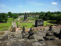 Tempio di Penataran Fotografie Stock