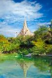 Tempio di Phasornkaew della Tailandia Fotografia Stock Libera da Diritti