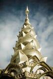 Tempio di Phasornkaew della Tailandia Fotografie Stock Libere da Diritti