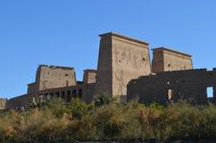 Tempio di Philae, egitto antico fotografie stock libere da diritti