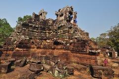 Tempio di Phimeanakas in Cambogia Immagine Stock