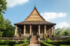 Tempio di Phra Kaew del biancospino a Vientiane, Laos Fotografia Stock Libera da Diritti