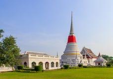 Tempio di Phra Samut Chedi Immagine Stock