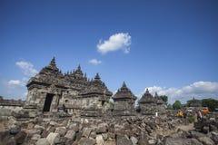 Tempio di Plaosan Fotografie Stock
