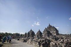 Tempio di Plaosan Fotografia Stock