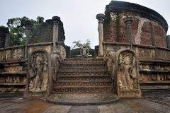 Tempio di Polonnaruwa Fotografie Stock Libere da Diritti