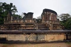 Tempio di Polonnaruwa Immagini Stock