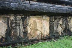 Tempio di Polonnaruwa Immagini Stock Libere da Diritti