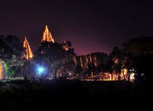 Tempio di Prambanan in Centeral Java Indonesia fotografia stock libera da diritti