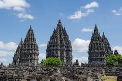 Tempio di Prambanan, Indonesia 3 Fotografia Stock Libera da Diritti