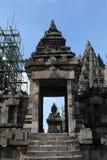 Tempio di Prambanan vicino a Yogyakarta Fotografia Stock