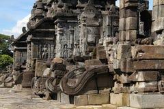 Tempio di Prambanan vicino a Yogyakarta Immagini Stock Libere da Diritti