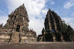 Tempio di Prambanan vicino a Yogyakarta Immagini Stock