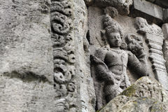 Tempio di Prambanan vicino a Yogyakarta Immagine Stock