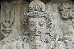 Tempio di Prambanan vicino a Yogyakarta Fotografia Stock Libera da Diritti