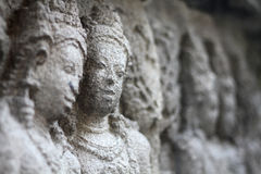 Tempio di Prambanan vicino a Yogyakarta Immagine Stock Libera da Diritti