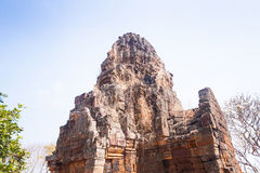 Tempio di Prasat Banan in Battambang, Cambogia Fotografie Stock Libere da Diritti