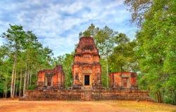 Tempio di Prasat Bei al complesso di Angkor in Cambogia Fotografia Stock Libera da Diritti