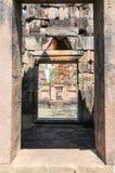 Tempio di Prasat Muang Tam in Buriram sulla Tailandia Fotografia Stock Libera da Diritti