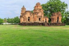 Tempio di Prasat Sikhoraphum o della Castle Rock Immagini Stock Libere da Diritti
