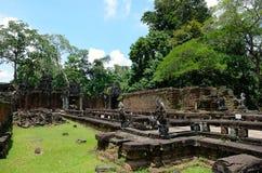 Tempio di Preah Khan Fotografie Stock