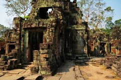 Tempio di Preah Khan nell'area di Angkor Wat Immagini Stock