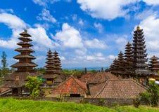 Tempio di Pura Besakih - isola Indonesia di Bali Fotografia Stock