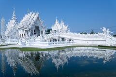 Tempio di Rong Khun Fotografia Stock Libera da Diritti