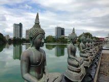 Tempio di Seema Malaka Buddhist fotografia stock