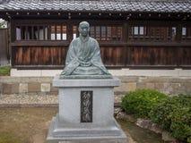 Tempio di Sengakuji, Tokyo, Giappone, le tombe di 47 Ronins Fotografia Stock Libera da Diritti