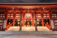 Tempio di Sensoji Immagini Stock