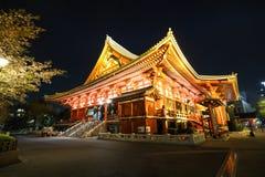 Tempio di Sensoji, Asakusa Tokyo Giappone Immagini Stock Libere da Diritti